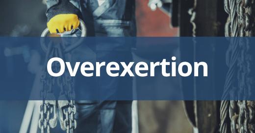 Overexertion Safety Talk