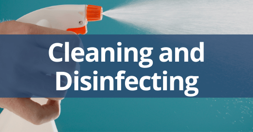 Cleaning and Disinfecting in the Workplace Safety Talk