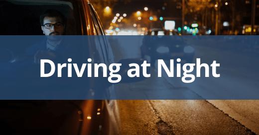 Driving at Night Safety Talk
